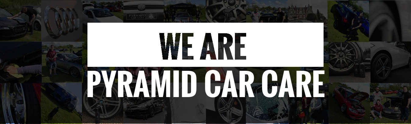 We Are Pyramid Car Care Banner