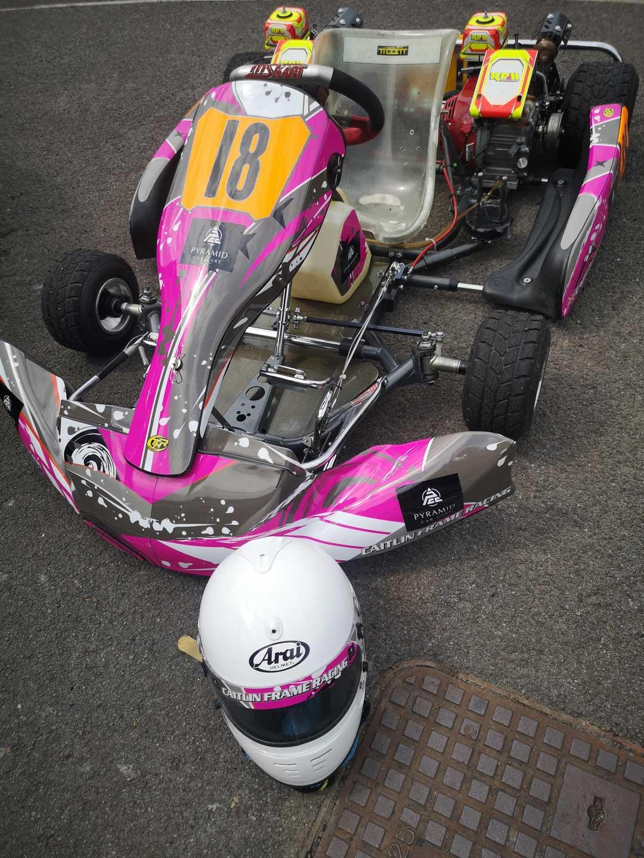 Caitlin Frame Racing