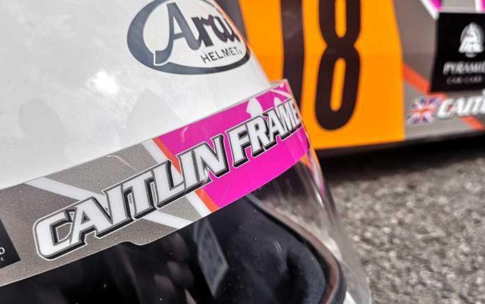Caitlin Frame Racing - Hero Image